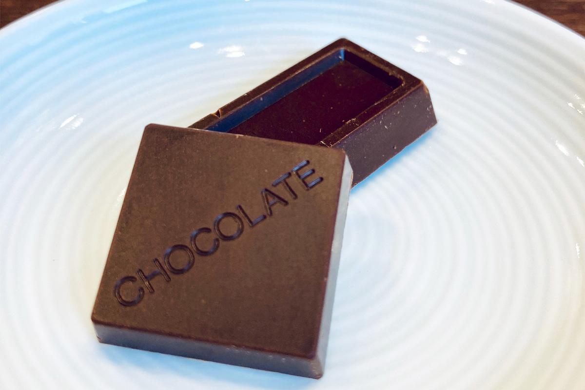 チョコレートの形