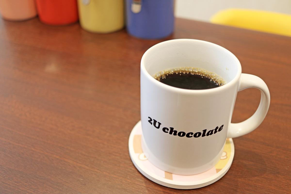 カフェでのコーヒー